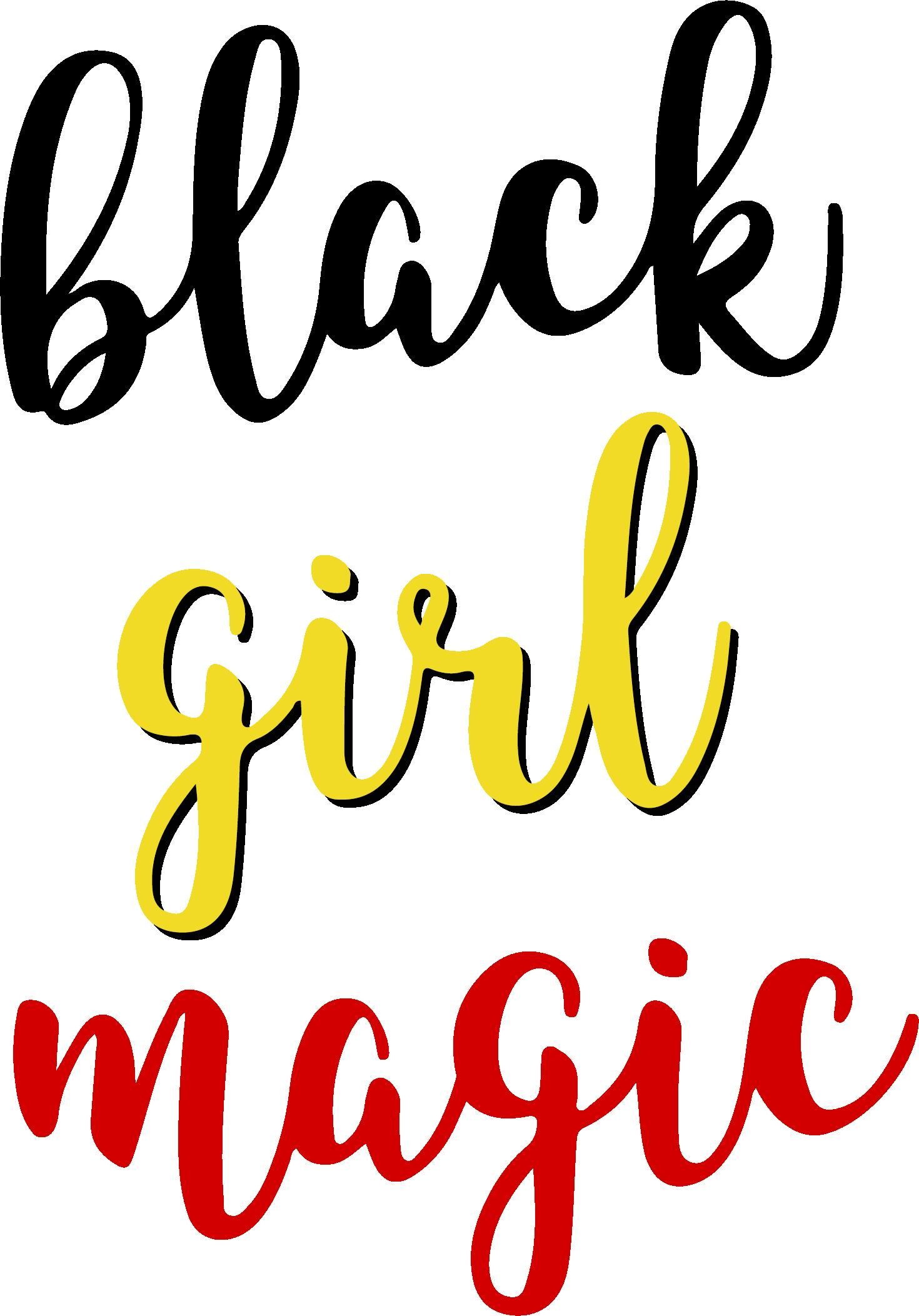 Black girl magic color