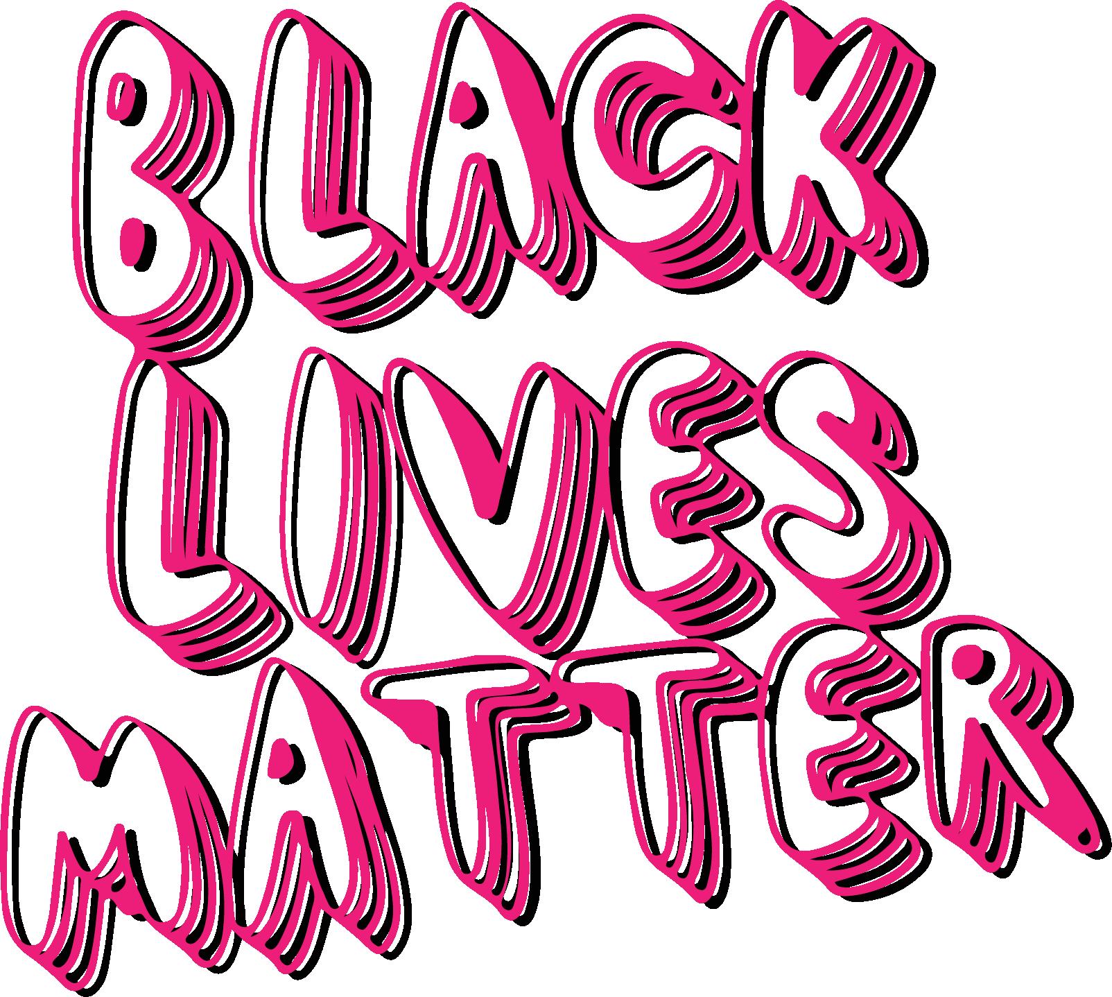 Black lives also matters color