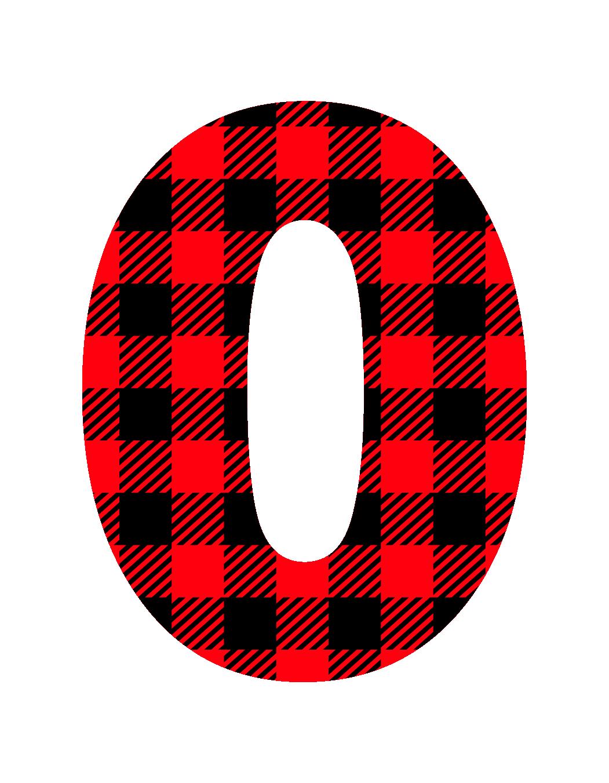 Checkered zero