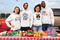 Friends hoodies mockup