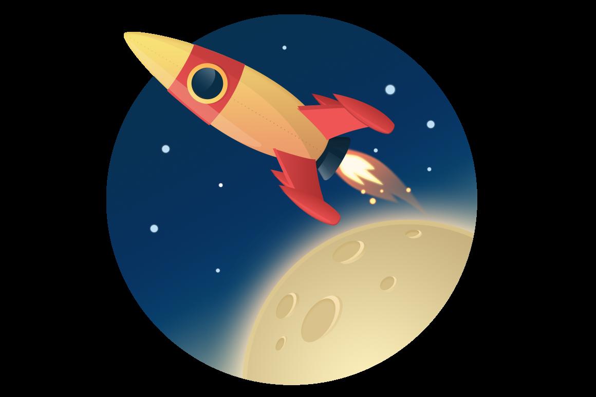 Hi res rocket
