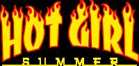 Hot girl summer fire