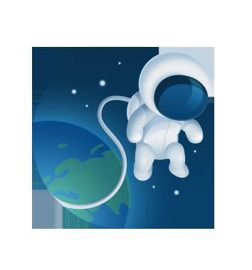 Icon astronaut