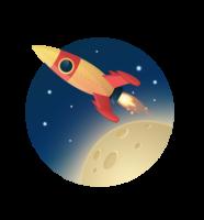 Icon rocket