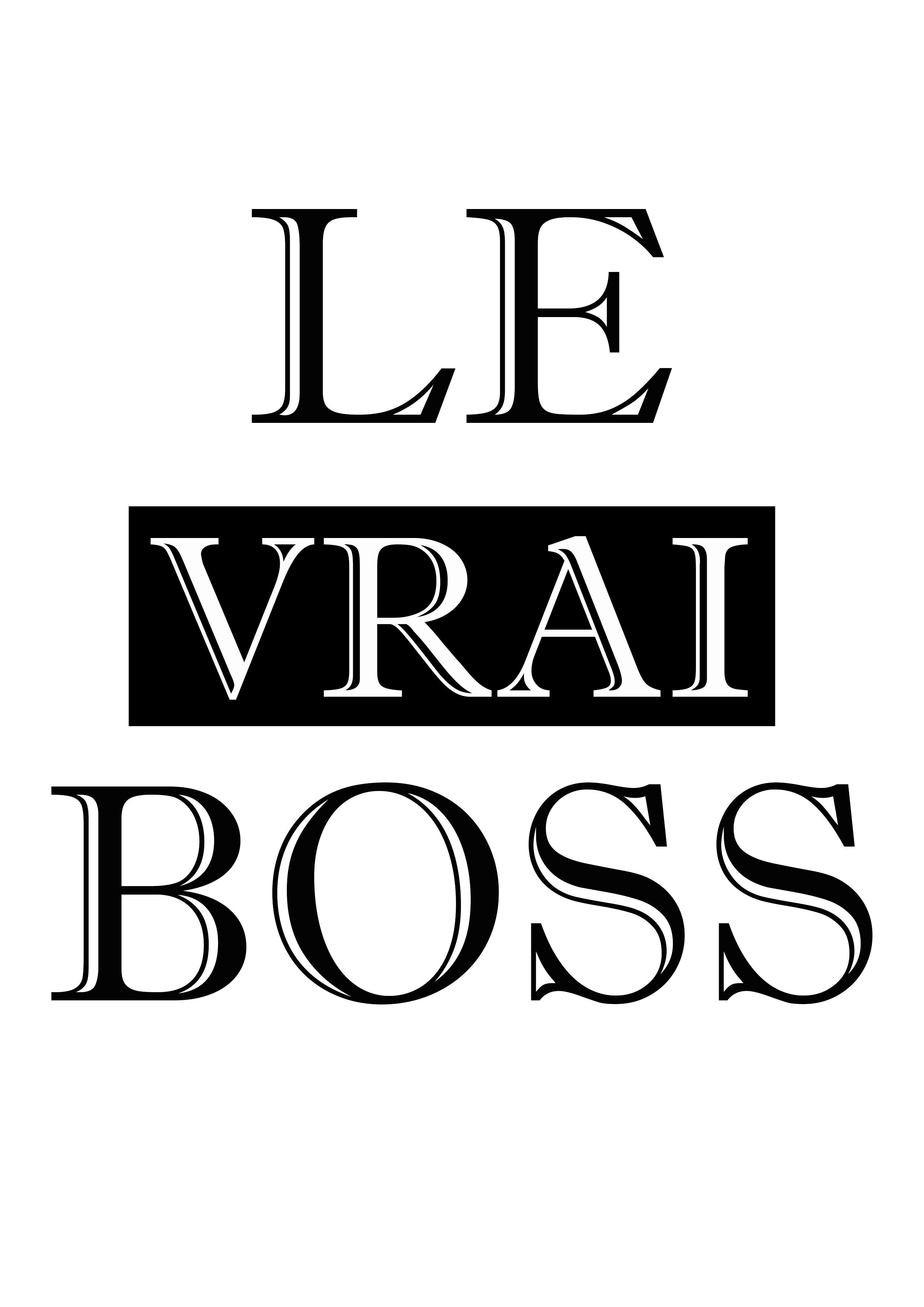 Le vrai boss