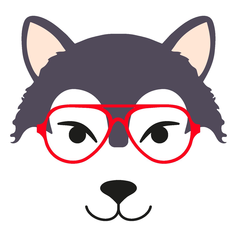 Wolf glasses boy 1