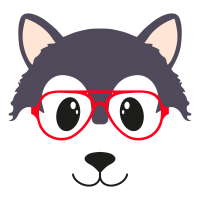 Wolf glasses boy 2