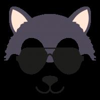 Wolf glasses cool