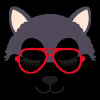 Wolf glasses girl 3