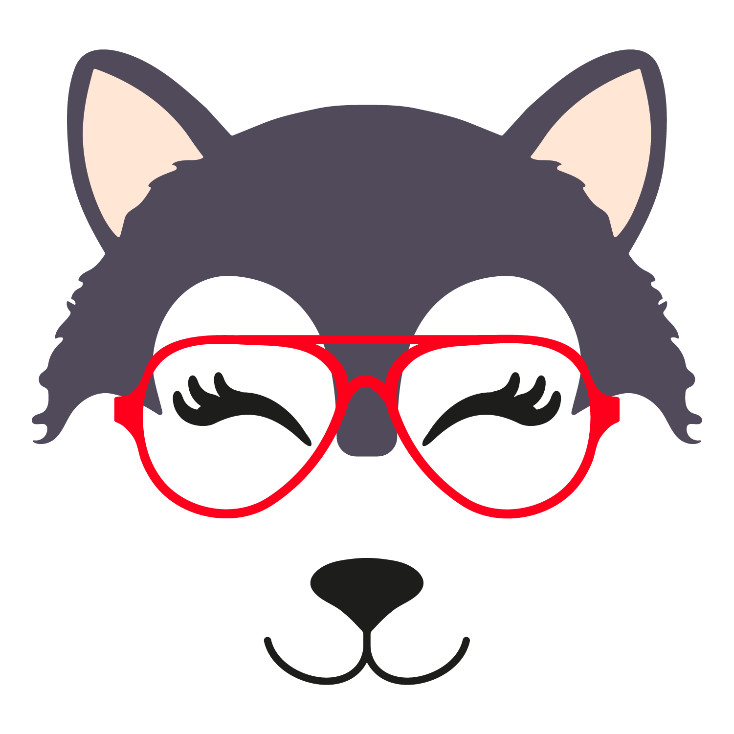 Wolf glasses girl 5