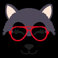 Wolf glasses girl 5