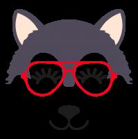 Wolf glasses girl 6