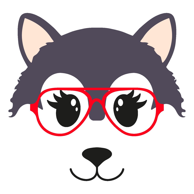 Wolf glasses girl 7