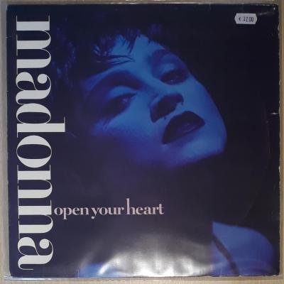 MADONNA - OPEN YOUR HEART - MAXI 45T OCCASION