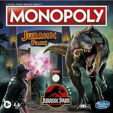 A3 monopoly jurassic park cover