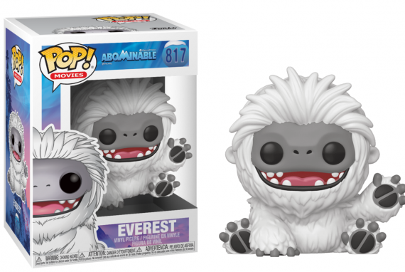 Abominable bobble head pop n 817 everest