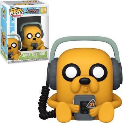 Adventure time bobble head pop n 1074 jake w player