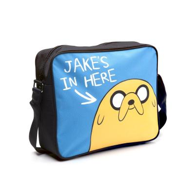Adventure time jake s in here messenger bag
