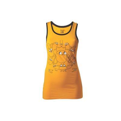 Adventure time t shirt jake tank top girl