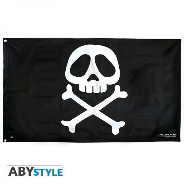 Albator drapeau 70x120cm embleme