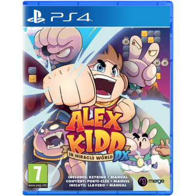Alex kidd in miracle world dx 1