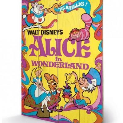 Alice 1974 impression sur bois 40x59cm