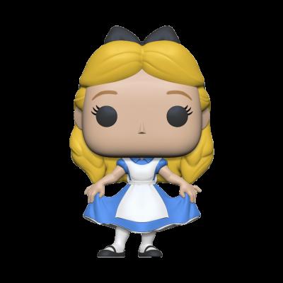 Alice 70th bobble head pop n xxx alice curtsying
