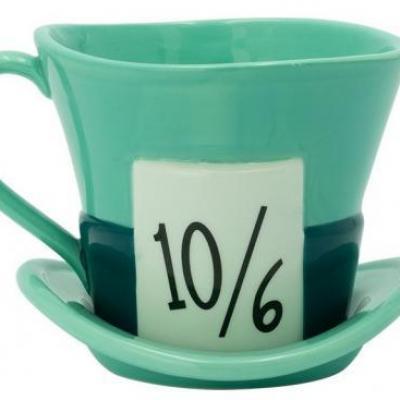 Alice au pays des merveilles chapelier fou mug 3d 220ml