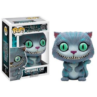 Alice bobble head pop n 178 cheshire cat