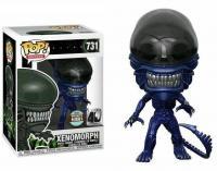 Alien 40th bobble head pop n 731 xenomorph blue version 1