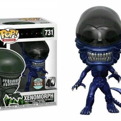 Alien 40th bobble head pop n 731 xenomorph blue version