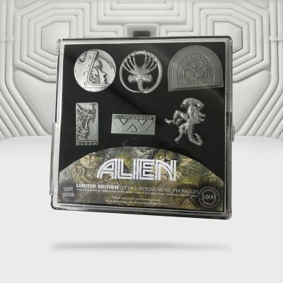 Alien set de 6 pin s edition limitee