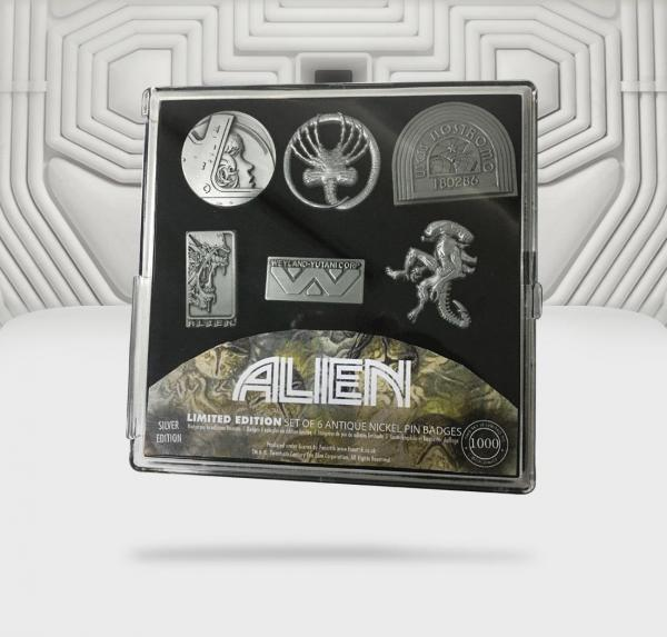 Alien set de 6 pin s edition limitee