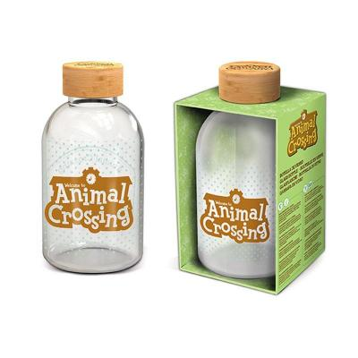 Animal crossing bouteille en verre format 620ml