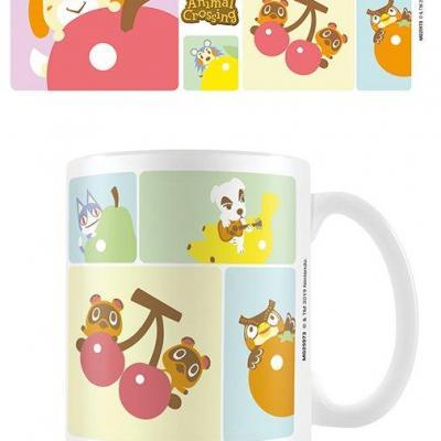 Animal crossing characters mug 315ml