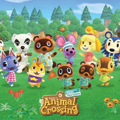 Animal crossing lineup poster 61x91cm