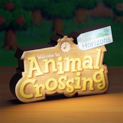 Animal crossing logo lampe 15x31x7cm