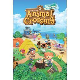 Animal crossing new horizons poster 61x91cm