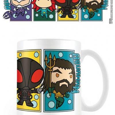 Aquaman character colour blocks mug 315ml