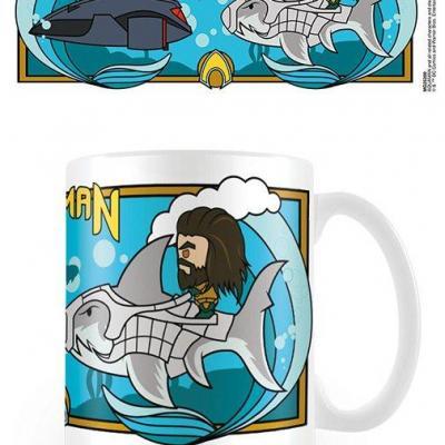 Aquaman under water clash mug 315ml