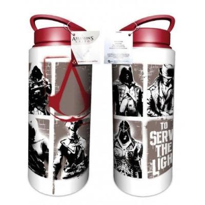 Assassin s creed aluminium drink bottles 700 ml stencil