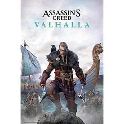 Assassin s creed valhalla poster 61x91 5cm