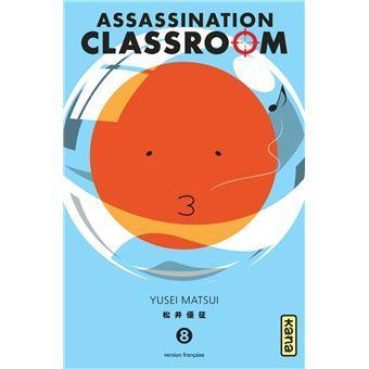 Assassination classroom tome 8