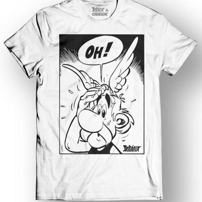 Asterix obelix t shirt oh white