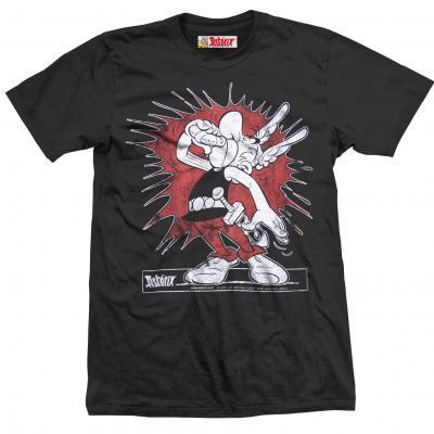 Asterix obelix t shirt splash boy black