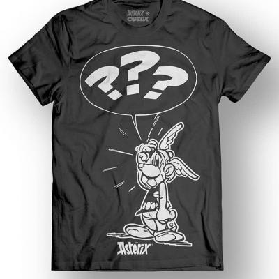 Asterix obelix t shirt what black
