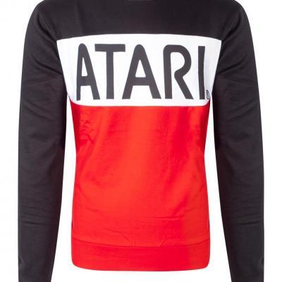 Atari cut sew sweatshirt homme