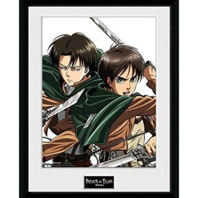 Attack on titan collector print 30x40 caracters