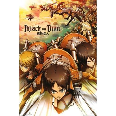 Attack on titan poster 61x91 attack