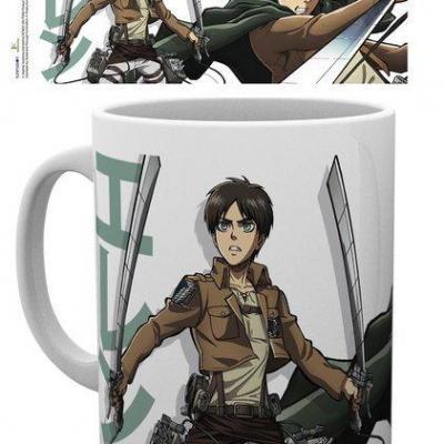 Attack on titan s2 eren mug 300ml